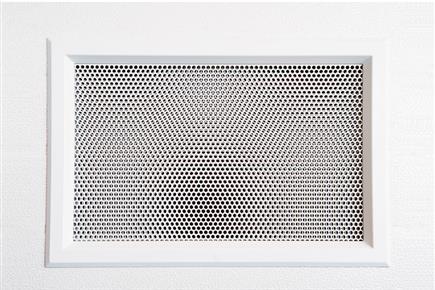 Available in measure 52,5 x 35 cm, white or black; they are painted in anti ral colour, on choice. Perforated sheet with diameter of 6 mm</br>only PANEL